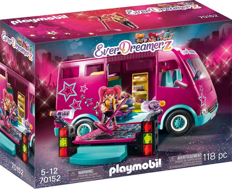 Playmobil® Konstruktions-Spielset »EverDreamerz Tourbus (70152), EverDreamerz«, (118 St), Made in Germany