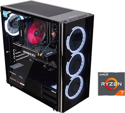 CAPTIVA G19AG 19V1 Gaming-PC (AMD Ryzen 7 3800X, RTX 2080 SUPER, 16 GB RAM, 2000 GB HDD, 500 GB SSD, Luftkühlung)