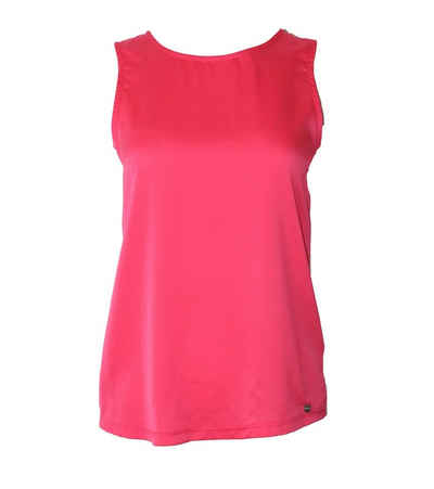 Liebesglück Shirttop »Liebesglück Sommer-Top atmungsaktives Damen Strand-Shirt aus semitransparentem Stoff Freizeit-Shirt Rosa-Rot«