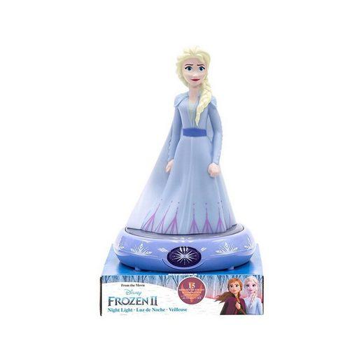 Disney Frozen Nachttischlampe »Nachttischlampe 3D Figur Elsa«