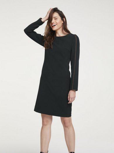 heine STYLE Kleid mit kontrastfarbigen Paspeln