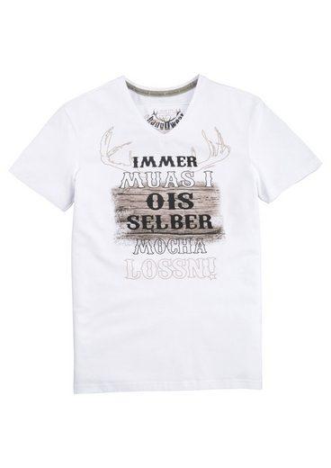 Hangowear Trachtenshirt mit coolem Aufdruck