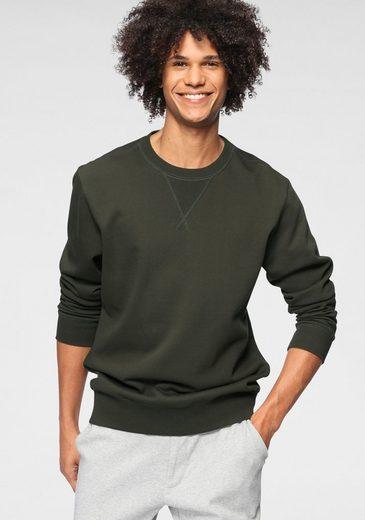OTTO products Sweatshirt aus GOTS zertifizierter Bio-Baumwolle