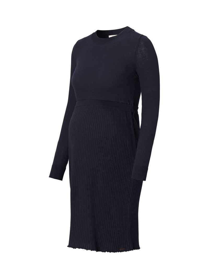 ESPRIT maternity Umstandskleid »Feinstrickkleid aus 100% Bio-Baumwolle«