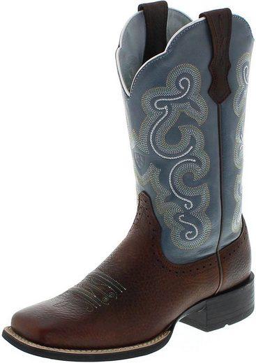 Ariat »4720 QUICKDRAW Brown Sapphire Damen Westernreitstiefel Braun« Cowboystiefel