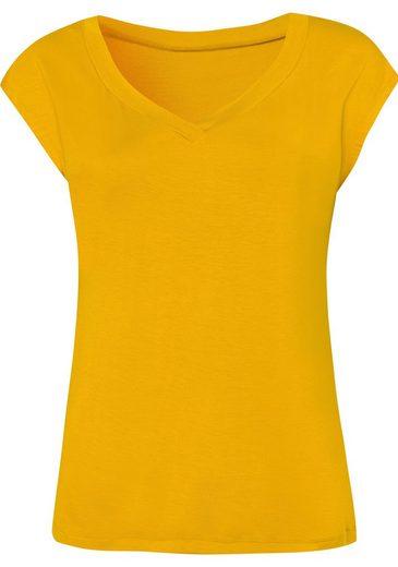 United Colors of Benetton T-Shirt mit herrlich weich fließendem Fall