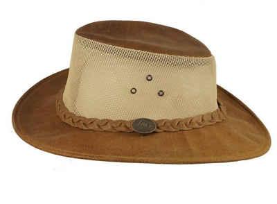 Scippis Cowboyhut »Scippis Australier Darwin natur Summerstyle« Netzeinsatz