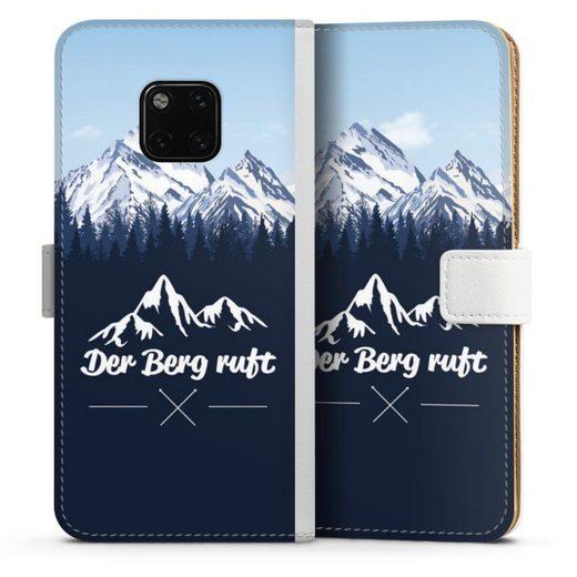 DeinDesign Handyhülle »Winterparadies« Huawei Mate 20 Pro, Hülle Wanderlust Berg Himmel