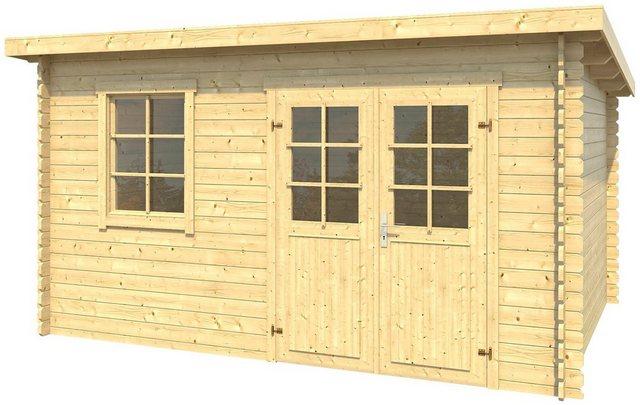Nordic Holz Gartenhaus Niendorf 2, B/T/H: 390/300/222 cm