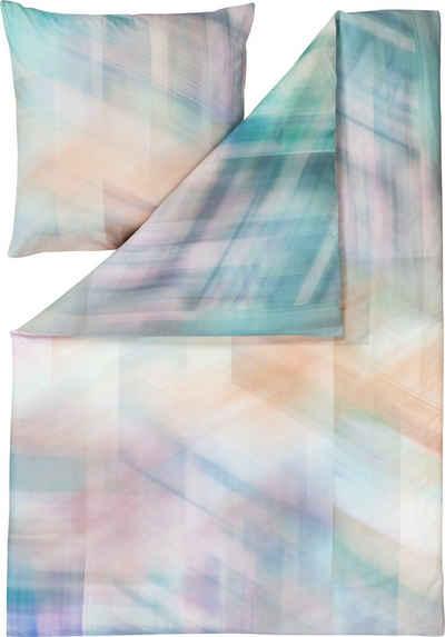 Bettwäsche »Mirage«, Estella, mit moderner Grafik in Pastellfarben