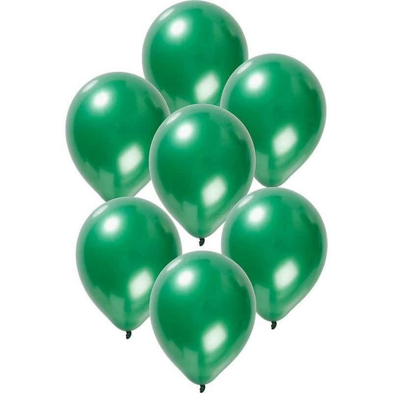 Folat Luftballon »Luftballons metallic rot 30 cm, 50 Stück«