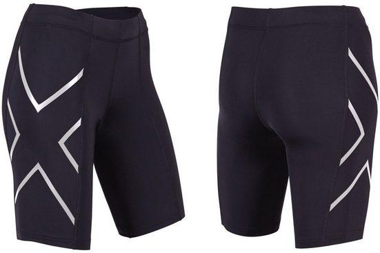 2xU Hose »Compression Shorts Damen«