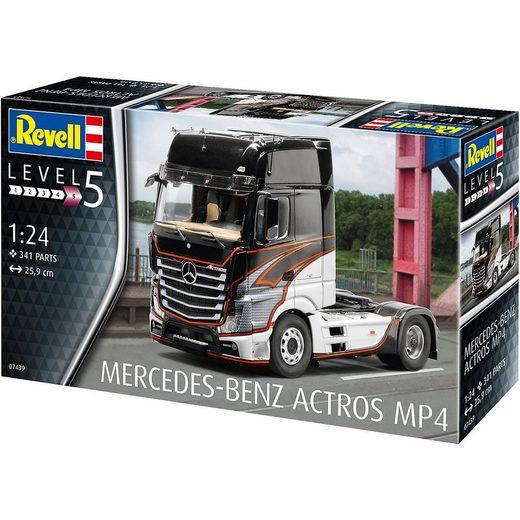 Revell® Modellbausatz »Revell Modellbausatz Mercedes-Benz Actros MP4«