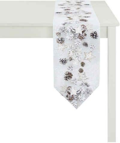 APELT Tischband »4692 WINTERWELT«, Digitaldruck