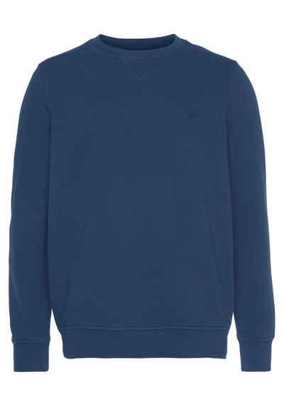FYNCH-HATTON Sweater mit Bruststickerei