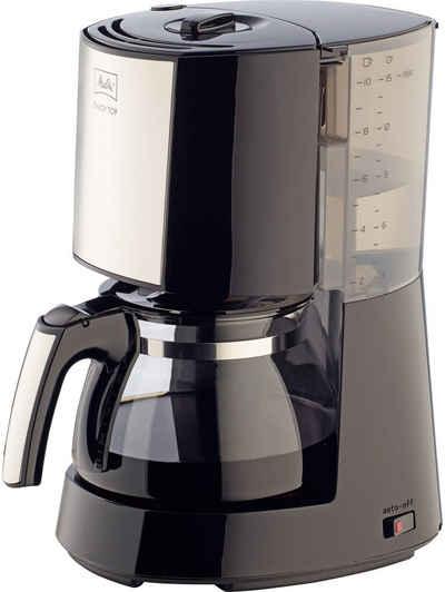 Melitta Filterkaffeemaschine Enjoy Top 1017-04, 1,25l Kaffeekanne, Papierfilter 1x4, mit Glaskanne