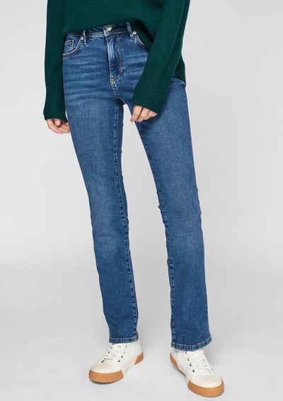 s.Oliver 5-Pocket-Jeans »Slim: Jeans mit leichter Waschung« Waschung