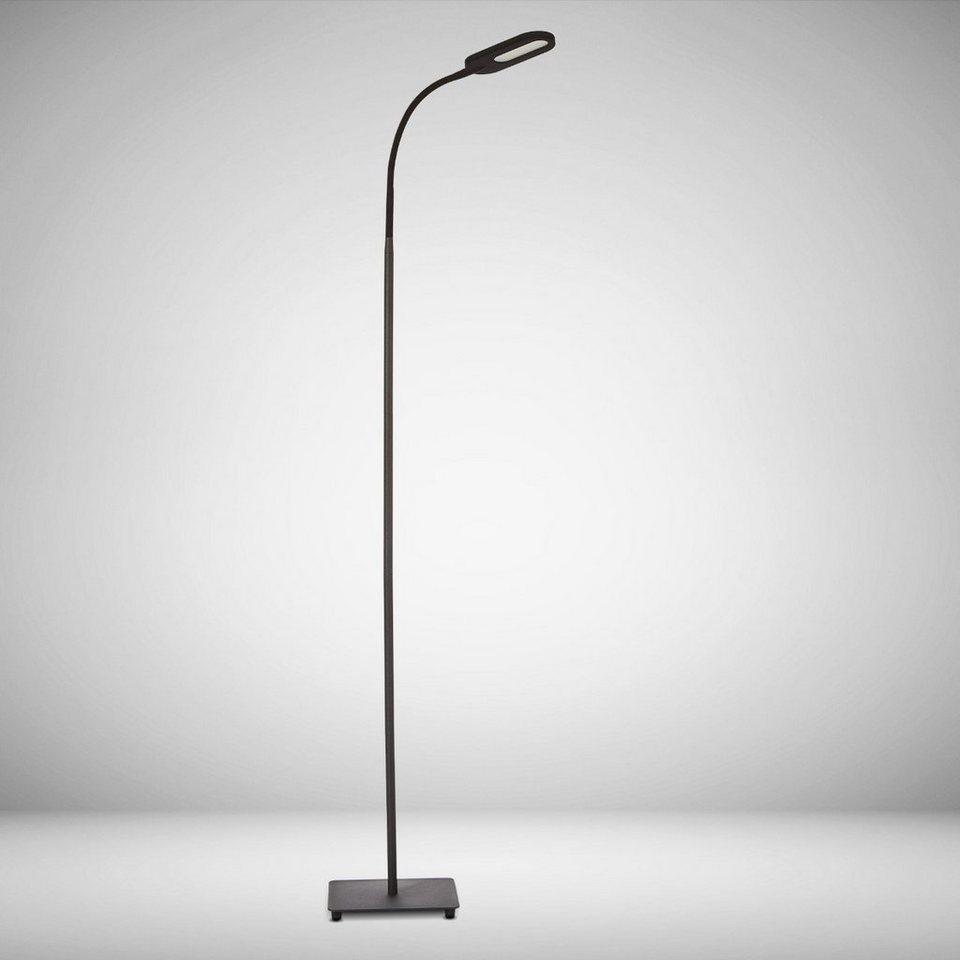 B K Licht Led Stehlampe 1 Flammig 4 Fach Dimmbar Farbtemperatur