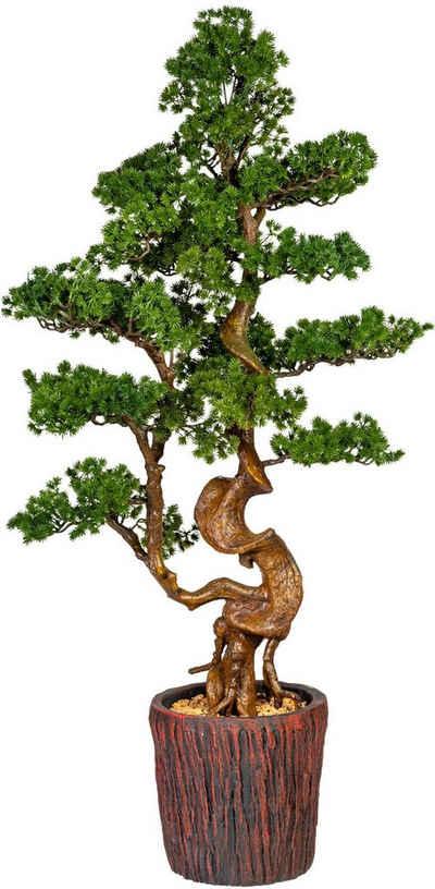 Kunstbonsai »Perreux« Bonsai Lärche, Home affaire, Höhe 125 cm, im Magnesiatopf