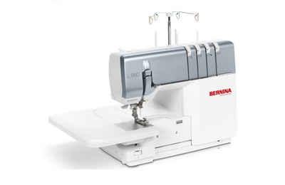 Bernina Nähmaschine L 850 Overlockmaschine, 18 Programme, Inklusive Lufteinfädler, Anschiebetisch & Kniehebel