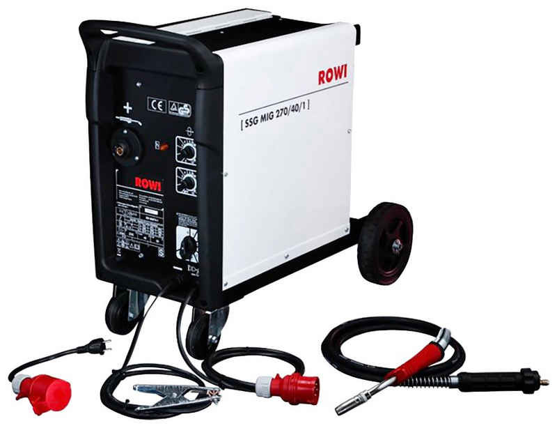 ROWI Schutzgasschweißgerät »MIG 270/40/1«, 40 - 270 A