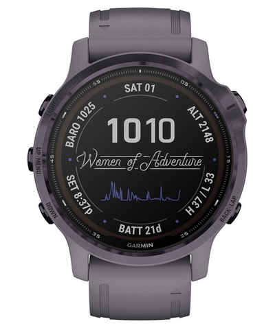 """Garmin Sportuhr »Smartwatch """"Fenix 6S Pro Solar""""«"""