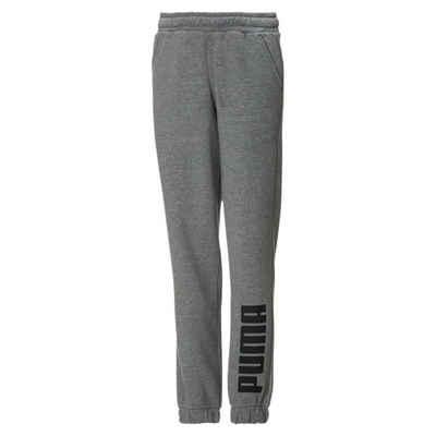 PUMA Jogginghose »Jungen Fleece Jogger-Sweatpants«