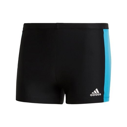 adidas Performance Badehose »Fitness Three-Second Boxer-Badehose«, PrimeBlue;Parley