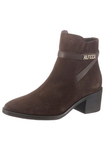 TOMMY HILFIGER »BLOCK BRANDING SUEDE MID BOOT« aulinu...