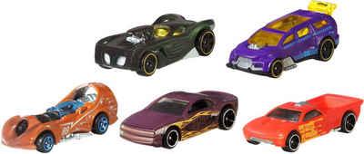 Hot Wheels Spielzeug-Auto »5er Pack Hot Wheels Color Shifters«, (Set, 5-tlg)