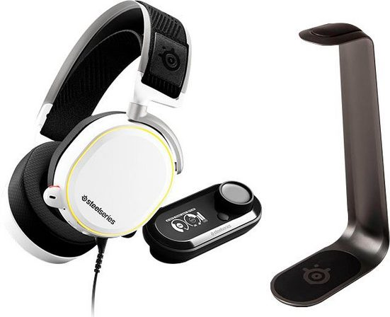 SteelSeries »Arctis Pro + GameDAC + HS1 Aluminum Headset stand« Gaming-Headset