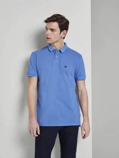 TOM TAILOR Denim Poloshirt »Poloshirt mit Print«