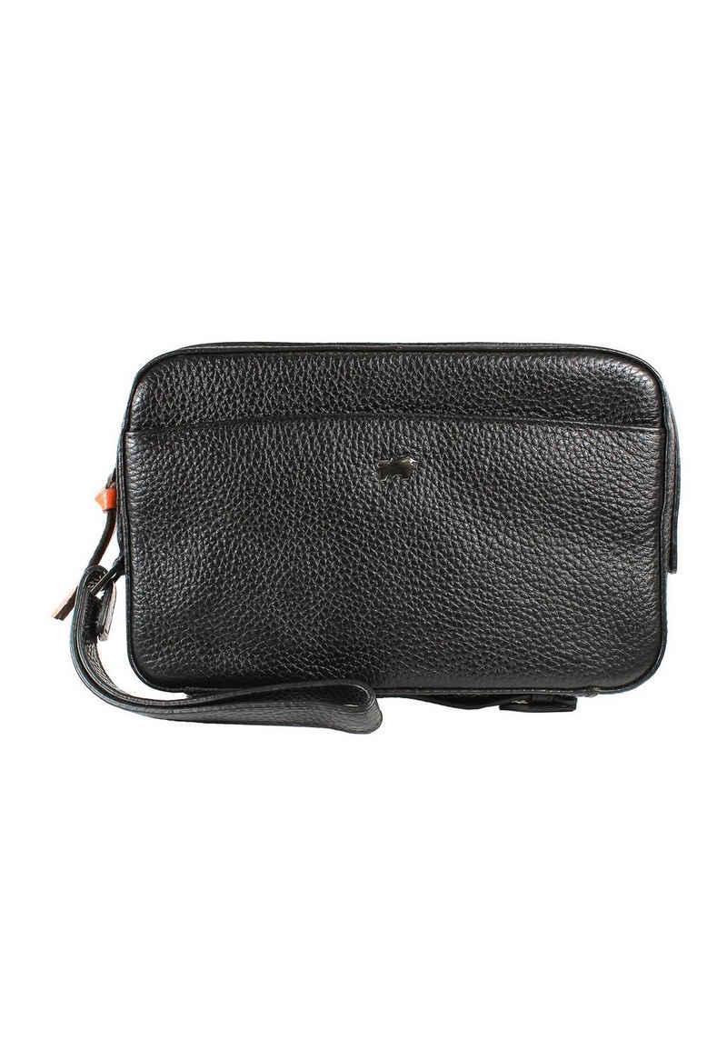 Braun Büffel Handgelenktasche »NOVARA Clutch schwarz«, Mini-Tasche für viele Einsatzbereiche