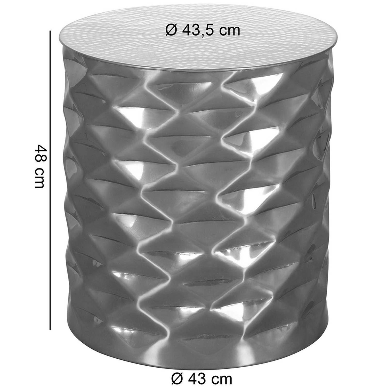 Couchtisch FLACHER HAMMERSCHLAG von LOMADOX - Maße
