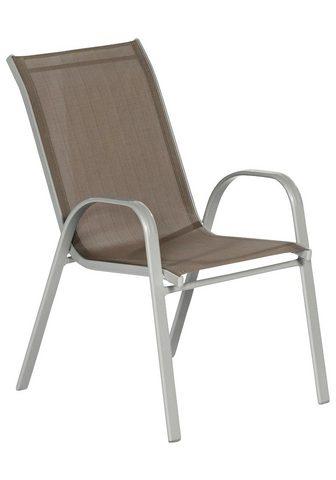 MERXX Sodo kėdė »Sorrento« Aluminium/Textil