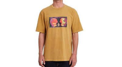Volcom T-Shirt »Volcom Herren T-Shirt Animoscillator gelb«