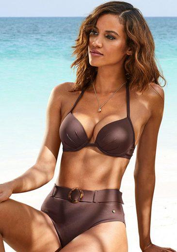 s.Oliver Beachwear Push-Up-Bikini-Top »Rome«, in verschiedenen Unifarben