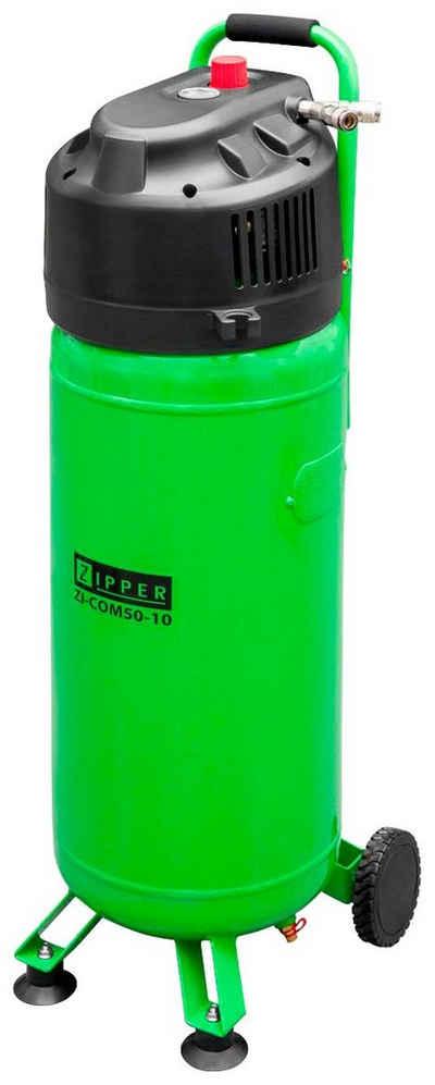 ZIPPER Kompressor »ZI-COM50-10«, 1500 W, max. 10 bar, 50 l