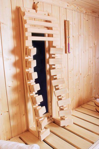 KARIBU Rückenlehne inkl. Infrarotstrahler, BxTxH: 28x17x88,5 cm