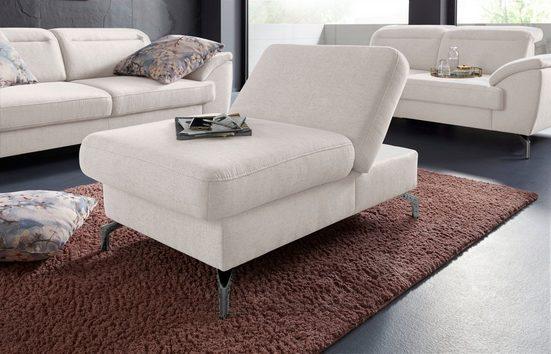 sit&more Hocker, Fußhöhe 15cm, mit Klappfunktion, wahlweise in 2 unterschiedlichen Fußfarben