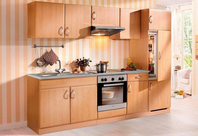 Küchenzeile mit E-Geräten Prag, Breite 270 cm