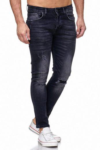 Tazzio Skinny-fit-Jeans »17514« im Destroyed-Look