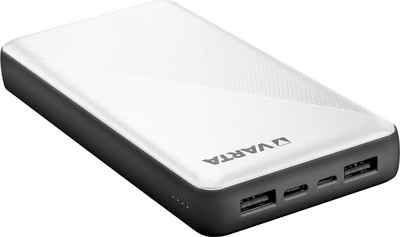VARTA »Power Bank Energy 20000 + Ladekabel 20000mAh Powerbank mit USB Type C« Powerbank 20000 mAh (3,7 V, 1 St)
