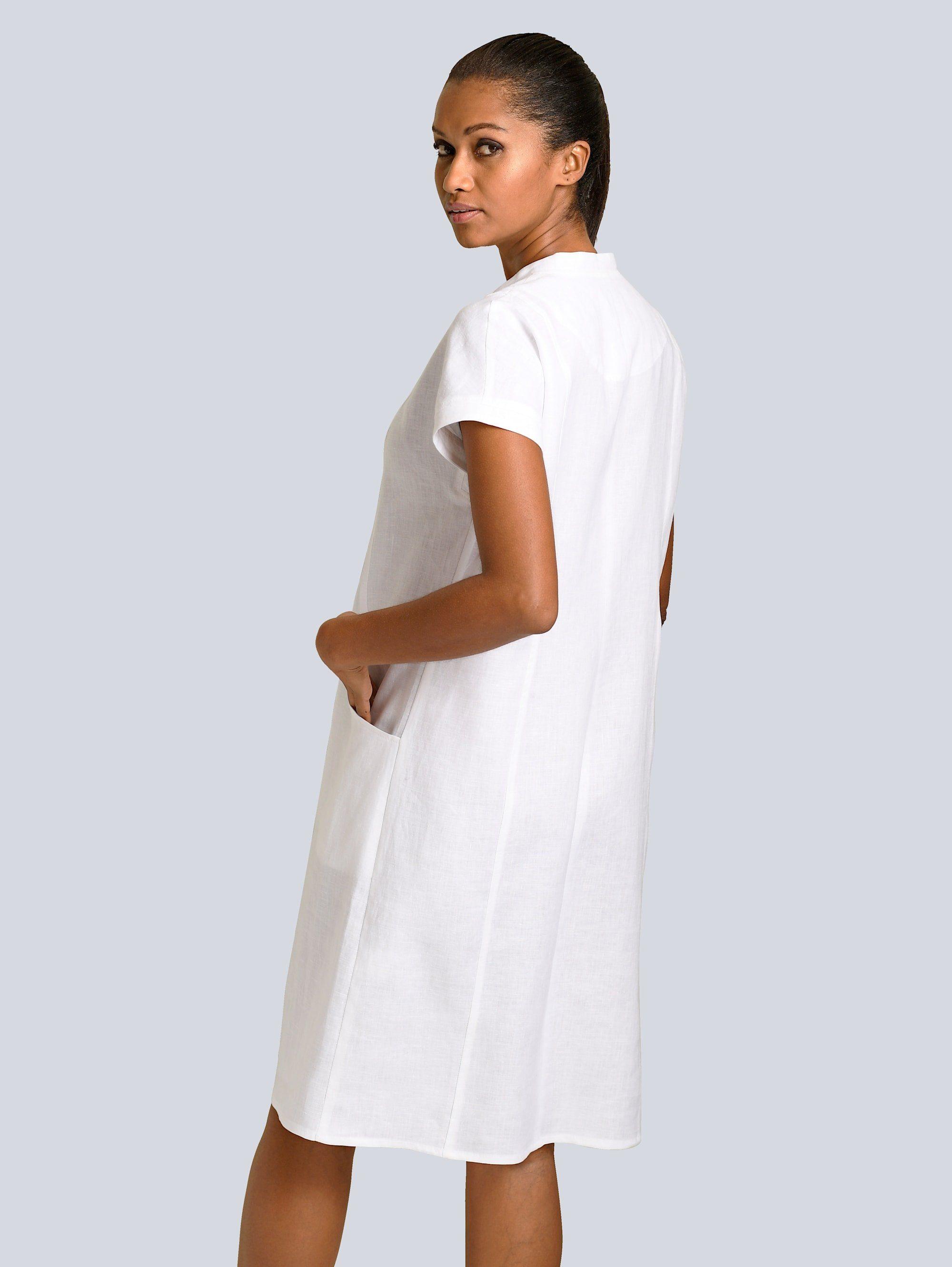 Alba Moda Kleid aus reinem Leinen