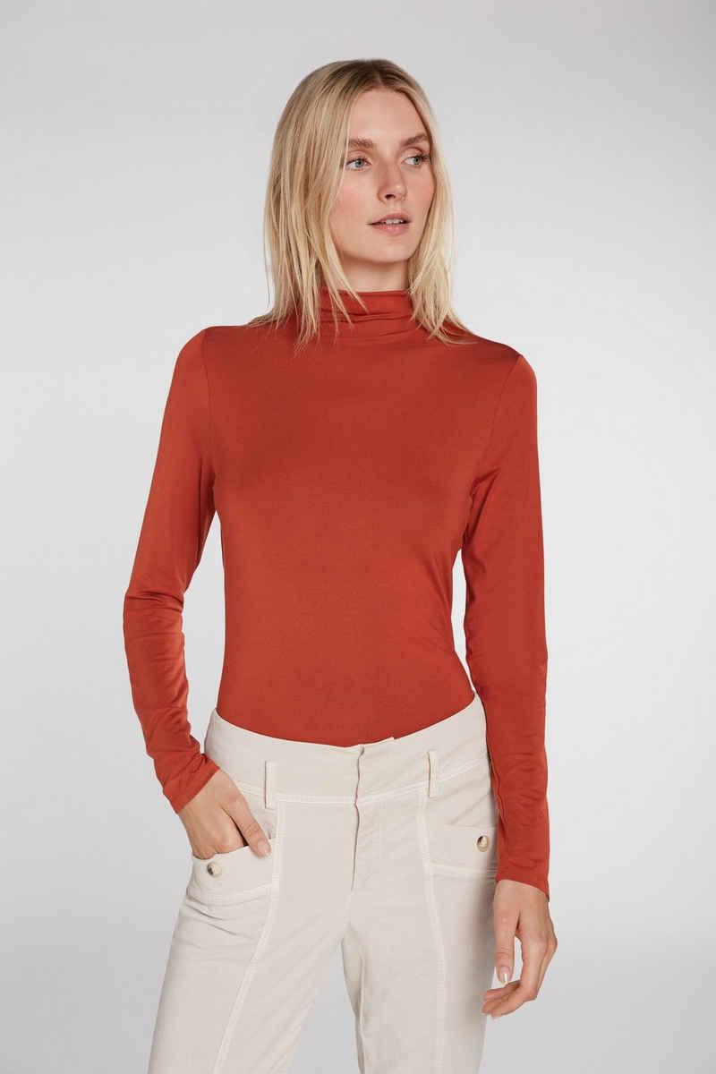 Oui Langarmshirt »T-Shirt mit langen Armen«