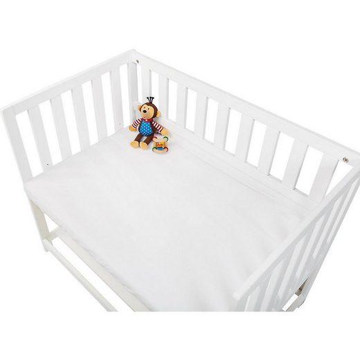 Bettlaken »Spannbetttuch für Wiegen und Anstellbettchen,«, Pinolino®