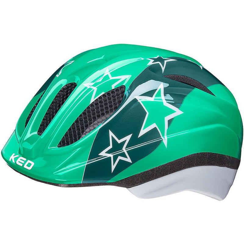 KED Helmsysteme Kinderfahrradhelm »Fahrradhelm Meggy II red stars«