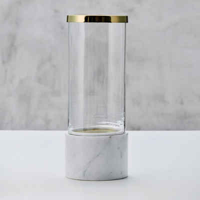 carla&marge Windlicht »Laniala«, aus Marmor und Glas