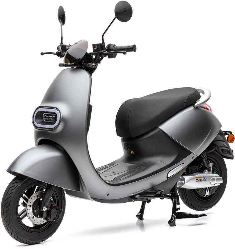 Nova Motors E-Motorroller »S3 Lithium«, 2000 W, 45 km/h, (Packung)