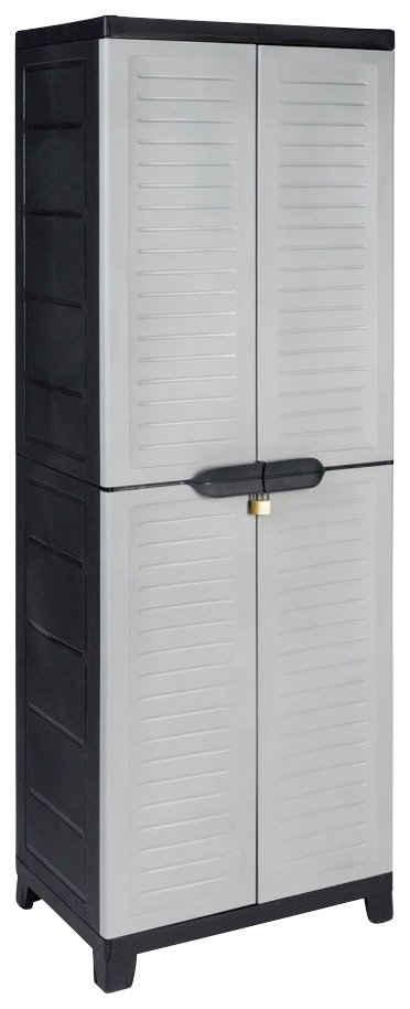 Kreher Mehrzweckschrank »Elite« B/T/H: 65x45x181,5 cm, mit geräumigem Freifach